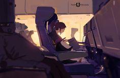 329/365 Path of Miranda_Flight mode, Atey Ghailan on ArtStation at https://www.artstation.com/artwork/n6rA4