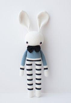 Häkeltiere oder gehäkelte Puppen - die Puppen und Tiere von Olialemon sind echte Handarbeit und alle aus reiner Bio-Baumwolle und Bio-Garn gefertigt.