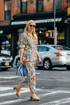 Day 6 | New York Fashion Week Street Style Spring 2019 | POPSUGAR Fashion UK Photo 7