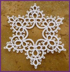 Tatted Star by Murphys Designs (not really tatting, but could certainly be adapted to real tatting) by della