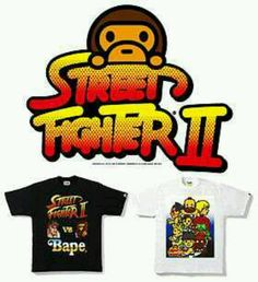 Bape x Street Fighter 2