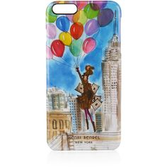 Henri Bendel Empire State Case For Iphone 6/6s Plus ($48) ❤ liked on Polyvore featuring accessories, tech accessories, blue multi and henri bendel