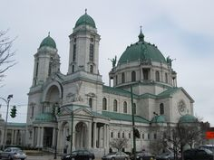 Our Lady of Victory Basilica in Lackawanna, NY just outside of Buffalo, NY. OLV is breath-taking and learning about Father Baker is inspiring and no wonder why he is a Saint in my book. Be sure to go across the street to the Botanical Gardens while you're here.