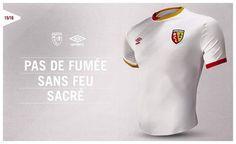 RC Lens 2015-16 Umbro Third Kit Football Shirts, Sports Shirts, Rc Lens, Sang, Third, Polo Ralph Lauren, Polo Shirt, Kit, Mens Tops