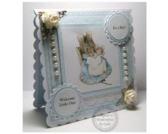 Mother and baby mouse from Beatrix Potter baby announcement.  A few years from now this would be nice.