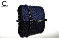 Navi Blue Handmade Crochet Bag !!!!