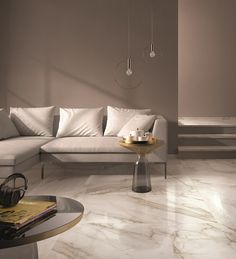 Porcelain stoneware wall/floor tiles SUPREME by Flaviker Contemporary Eco Ceramics Marble Interior, Home Interior Design, Living Room Designs, Living Room Decor, Italian Marble Flooring, Granite Flooring, Ceramic Flooring, Living Room Flooring, Wall And Floor Tiles