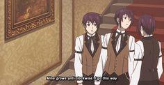 anime kuroshitsuji black butler kuroshitsuji II *kuro The triplets ...