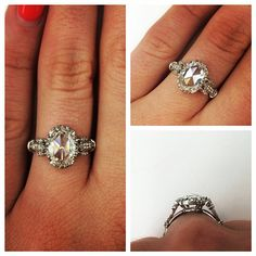 There is nothing better than a rose cut diamond ring on a Tuesday morning!! @singlestonemissionstreet