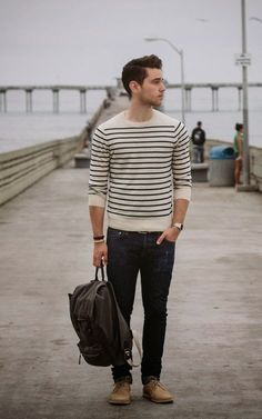 This is Men's Casual Style that really perfect for your boyfriend. Just check it our top pick Men's Style Casual on our current list. Men normally choose mainly superior high-quality w. Mode Masculine, Sharp Dressed Man, Well Dressed, Fashion Mode, Mens Fashion, Fashion Tips, Fashion Styles, Fashion Check, Fashion Wear