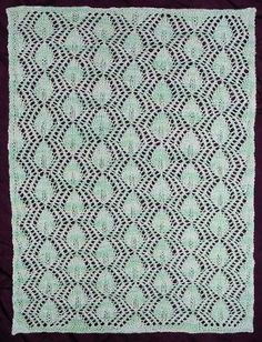 Queen Anne's Lace Doily Afghan Free Pattern