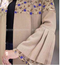 Hijab Fashion Summer, Abaya Fashion, Muslim Fashion, Fancy Dress Design, Stylish Dress Designs, Stylish Dresses For Girls, Stylish Clothes For Women, Mode Abaya, Iranian Women Fashion