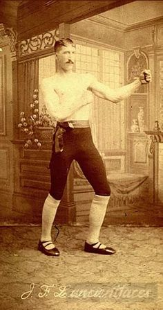BOXING: Joel Francis Lewis was a boxer in Montana in 1900. [ Original: Joel Francis Lewis ]