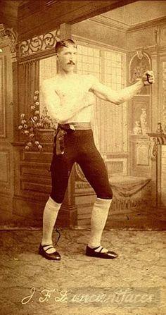 BOXING: Joel Francis Lewis was a boxer in Montana in 1900. [ Original: Joel Francis Lewis ]
