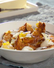 Soft boiled eggs & Toast-   My Mother called it, egg in a cup.   I make this for my kids now.  Mmm. comfort