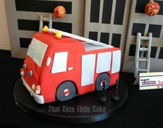 Firetruck, Fire Engine, Fireman, Firemen Birthday Party Ideas | Photo 1 of 11 | Catch My Party