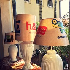 Decorate your spaces with digitally printed products!  #DigitalPrinting #Lamps #Lamp #DIY #Decor #Decoration #Lampshade