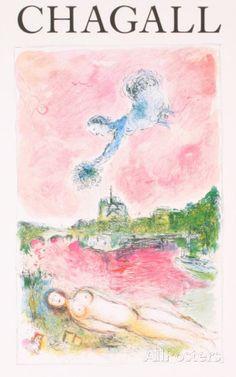 Pink Opera-Opera Rose Sammlerdrucke von Marc Chagall bei AllPosters.de