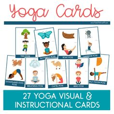 Pediatric Yoga Cards - Tools To Grow