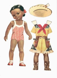 A charming African American Girl Paper Doll Paper Doll Craft, Doll Crafts, Paper Toys, Paper Crafts, Cardboard Crafts, Music Paper, Paper Art, African American Dolls, Operation Christmas Child