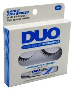 Duo Professional Eyelash Kit D14 Short And Spiked 6 Pack >>> Want to know more, click on the image.