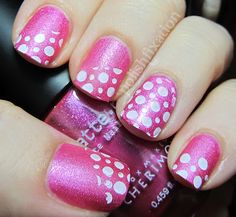 Pink with polka-dots