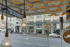 view across to smith + caughey building | moustache milk & cookies bar, Auckland