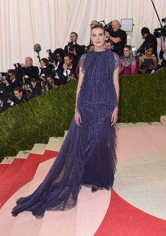 Pin for Later: These Looks Prove That Models Treat the Met Gala Like the Fashion Oscars Agyness Deyn In Kenzo.