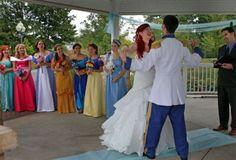 Disney themed wedding - cutest thing I've ever seen
