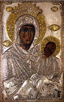 Virgin Mary Esfagmeni - Holy Great Monastery of Vatopedi Orthodox Catholic, Catholic Art, Early Christian, Christian Art, Madonna, Religious Icons, Orthodox Icons, Sacred Art, Virgin Mary