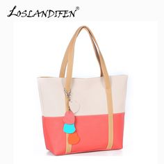 Sweet Blend Candy Color New Fashion Women Leather Handbags Shoulder Bag Sac A Main Marques Bolsos Mujer  803bag -- See this great product.