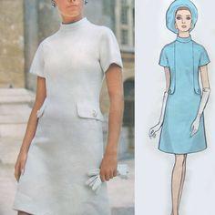"vintage Vogue 2089 COUTURIER DESIGN ""Pertegaz"" Balenciaga dress sewing pattern"
