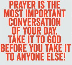Yes! Never let a day pass that you don't pray (even when you don't feel like it; chances are, that's when you really need to)