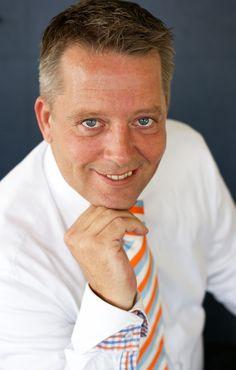 Rene van Solid Flows tijdens de Profielshoot. Check the tie! :-) http://www.solid-flows.nl