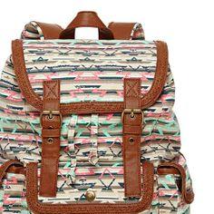 Olsenboye® Tribal-Print Backpack - JCPenney