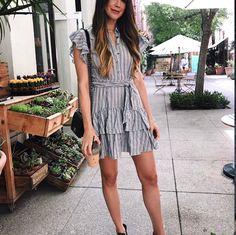 #dresses, #summerdress, #stripeddress, #summerfashion, #shopbyinfluencer, #influencerfashion, #fashion, #influencer