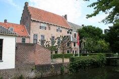 Muziekschool vanaf de Zuidsingel Amersfoort.