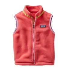 Patagonia Baby Synchilla\u00AE Fleece Vest - Indy Pink IDYP