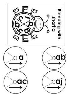 CVC ~ Word Family Match Up ~ Short vowel Worksheets
