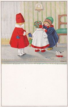 Pauli Ebner (1873-1949) — Old Post Cards (600x943)