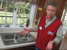 Lowe's home improvement expert, Mike Kraft, shows you what tools you will need and how to properly change and replace your old kitchen faucet without damaging your sink. Presented by pelegproperties.com