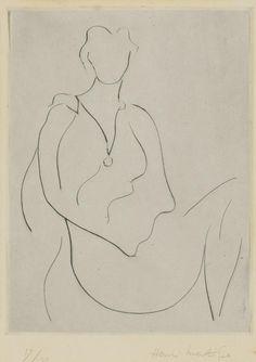 Henri Matisse (1869-1954) Frontispiece From Midis Gagnes By Tristan Tzara 1938 (19,7 x 14,8 cm)