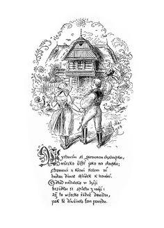 Mikoláš Aleš: Vystavím si skrovnou chaloupku http://www.herbia.cz/products-page/pohlednice/umelecke/page/16/