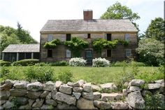 This colonial home was built in West Peabody in 1668 by Isaac and Patience Cook Goodale. In 1928 it was reconstructed at 153 Argilla Road near Russell Orchards in Ipswich by Robert Lincoln and Susa...