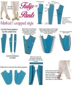 Latest trend of Tulip Pants in Pakistan and How to Tutorial