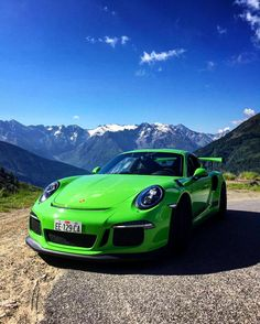 Porsche 911 GT3 RS #porsche #gt3 wouldn't have the lime green