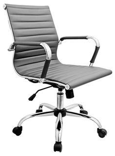 Eames Style Office Chair with Casters