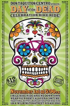 cycling candy skull - Google Search
