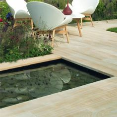 Stonemarket Cordara Paving - sawn linear paving planks with unique wood texture to create and interesting finish. Available from #PavingSuperstore http://www.pavingsuperstore.co.uk/stonemarket-paving-sawn-sandstone-cordara-iberian-oak-paving-slabs-linear-planks-499233-p.asp #sawnsandstone #smoothsandstone #Stonemarket