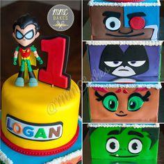 Teen Titans GO Cake - Custom Cakes by MMC Bakes, San Diego
